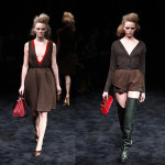 Prada Fall RTW 2009: Razor Sharp Luxe