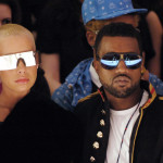 Celeb Style: Kanye West & Amber Rose Fashion Week Tour