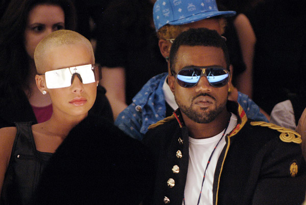 kanye-west-and-amber-rose-at-alexandre-herchcovitch