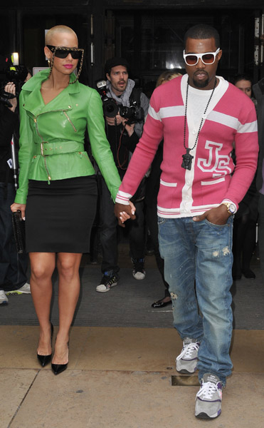 kanye-west-and-amber-rose-at-jeremy-scott