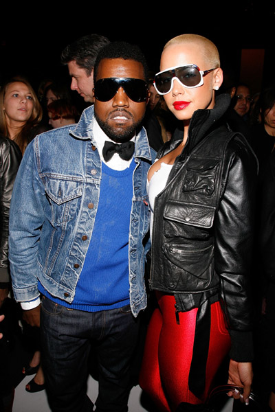 amber rose and kanye west at the beach. Amber Rose Talks Kanye West