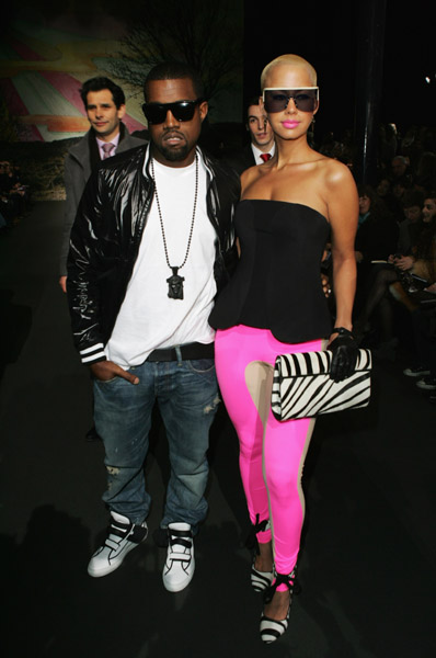 kanye-west-and-amber-rose-at-stella-mccartney