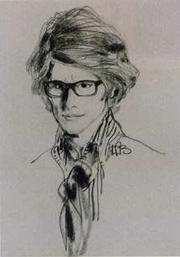http://www.thefashioncult.com/wp-content/uploads/2009/04/kenneth-paul-block-yves-saint-laurent-portrait.jpg