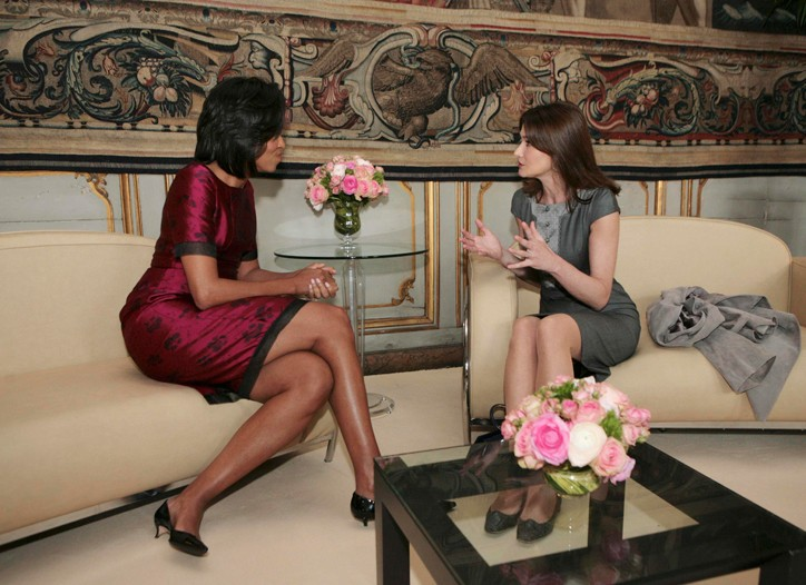 michelle-obama-and-carla-bruni-fashion-style