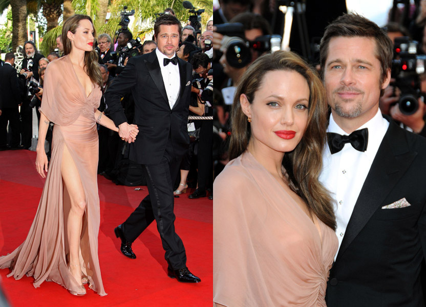 angelina-jolie-brad-pitt-cannes-inglourious-basterds-premiere-side-by-side