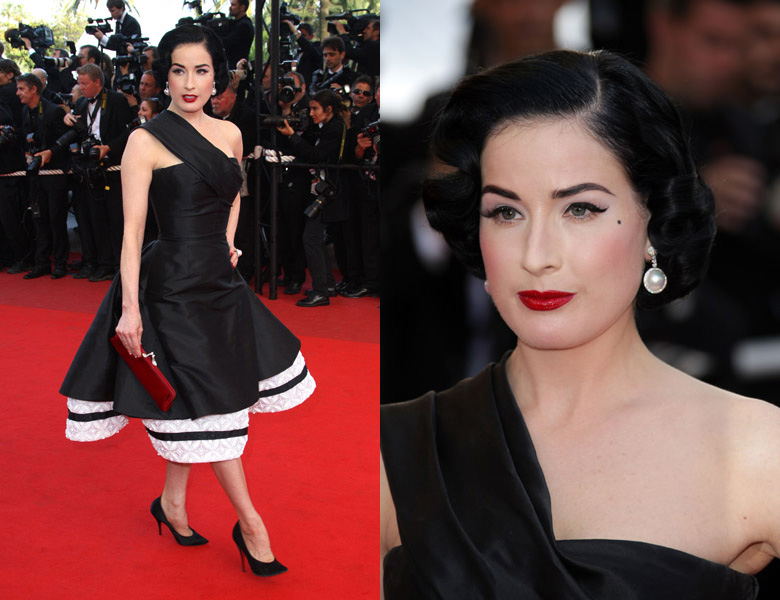 dita-von-teese-inglourious-basterds-premiere-cannes-side-by-side