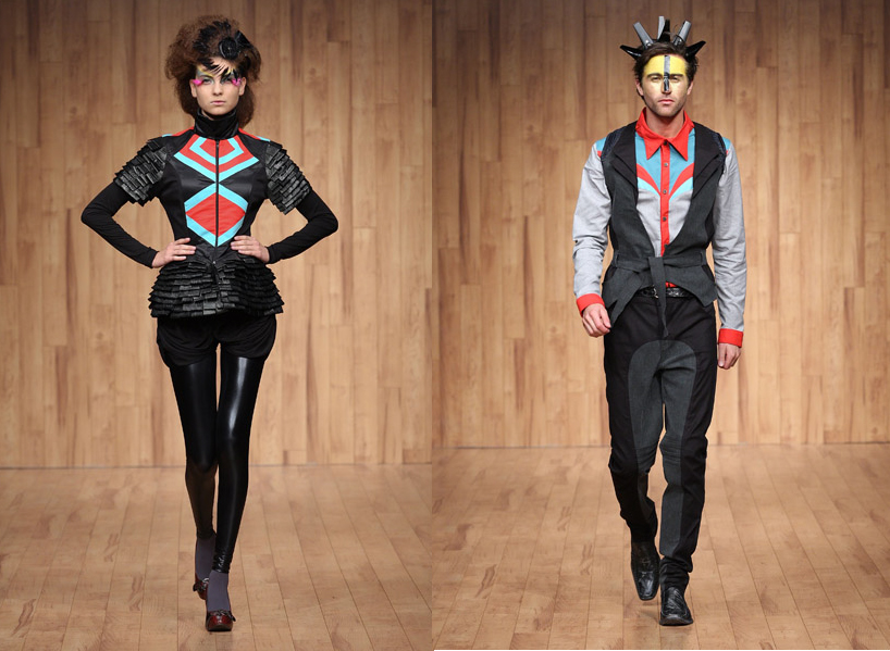 malafacha-mexico-city-fashion-week-red-tourquoise-couple