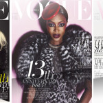 Vogue Korea August: 3 Covers 3 Supers