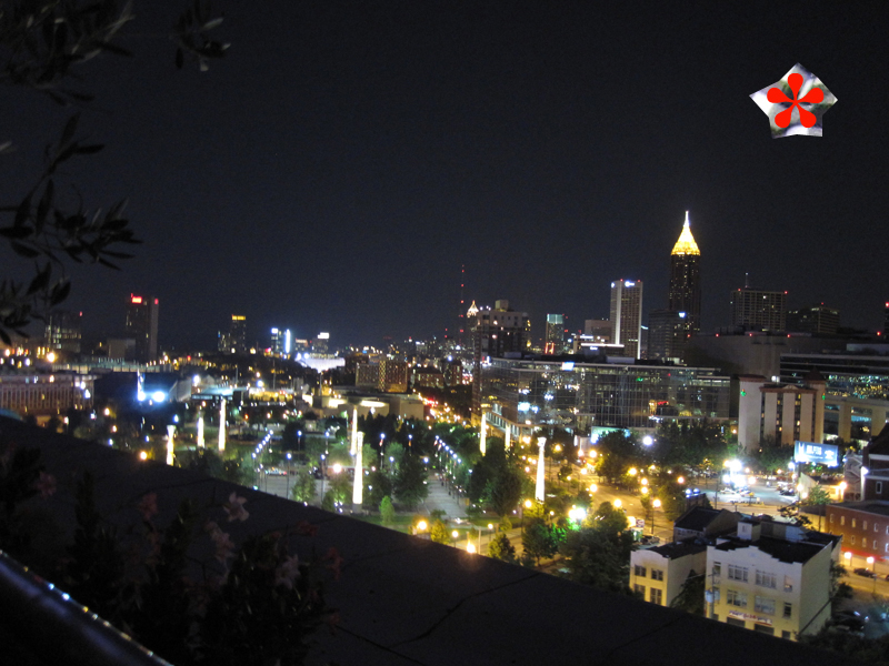 a view from the top glenn hotel atlanta