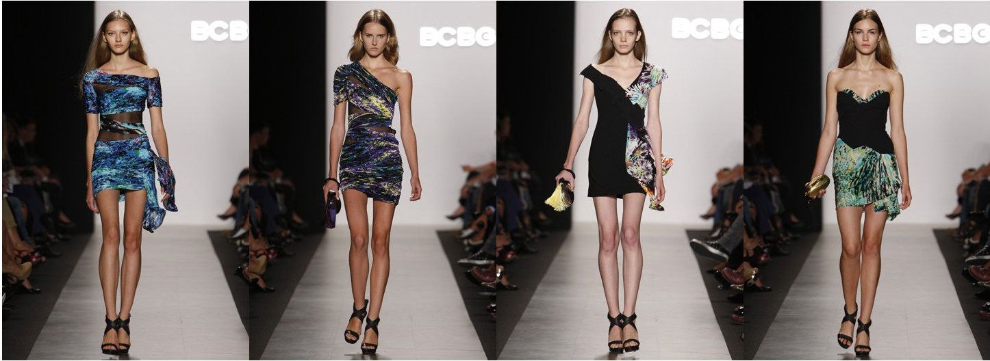 bcbg max azria spring 2010 nyfw PATTERNS