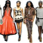 Chanel Iman Rocks Milan – MFW Spring 2010