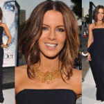 Kate Beckinsale Black Dress – 'Whiteout' Premiere, Los Angeles