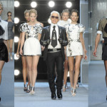 Lagerfeld Does Mini-Me for Spring 2010 #PFW