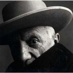 picasso by irving penn