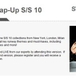Stylesight's Global Webinar Series Continues with SS 2010 Wrap-Up