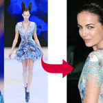 Belle Brings McQueen's Spring Down to Earth