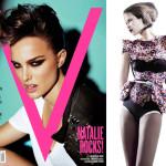 Natalie Portman by Mario Testino + V #62 Editorial with Miranda Kerr
