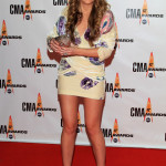 Ashley Monroe attends the 43rd Annual CMA Awards