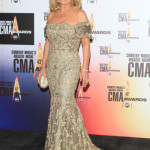 Barbara Mandrell poses in the press room at the 43rd Annual CMA Awards