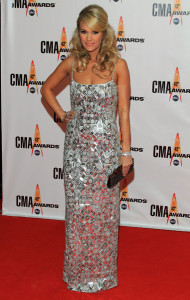 Host Carrie Underwood attends the 43rd Annual CMA Awards