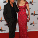 Keith Urban and actress Nicole Kidman attend the 43rd Annual CMA Awards
