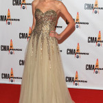 Taylor Swift attends the 43rd Annual CMA Awards