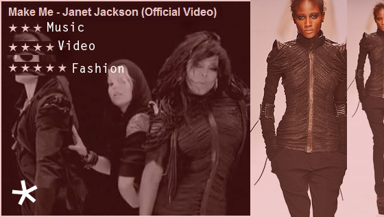 janet jackson wears todd lyn spring 2010 in make me move music video