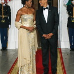White House State Dinner: Michelle Obama Dazzles, but Secretary Rogers is Best Dressed