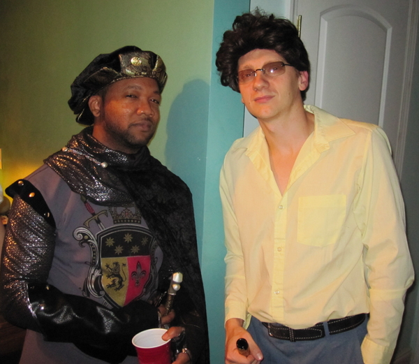 sir william and jack tripper halloween 09
