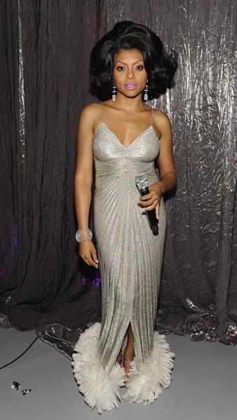 taraji p henson as diana ross soul train awards 2009