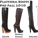 Pre-Fall Trend 2010: Platform Boots