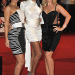 Amelle Berrabah, Jade Ewan and Heidi Range of the Sugababes - Brit Awards 2010