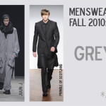 Menswear Trend 2010: Grey Days Ahead