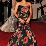 Eva Mendes Met Costume Institute Gala 2010