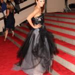 Mila Kunis Met Costume Institute Gala 2010 - back
