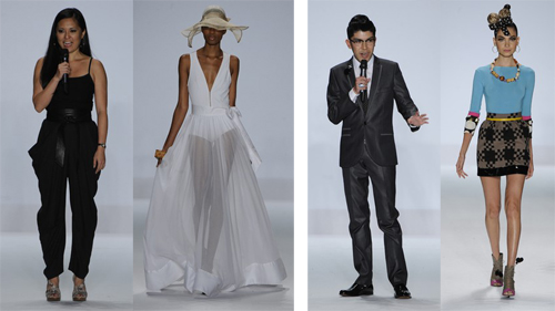 Mondo Guerra Project Runway Finalists At New York Fashion Week Spring 2011 The Fashion Cult