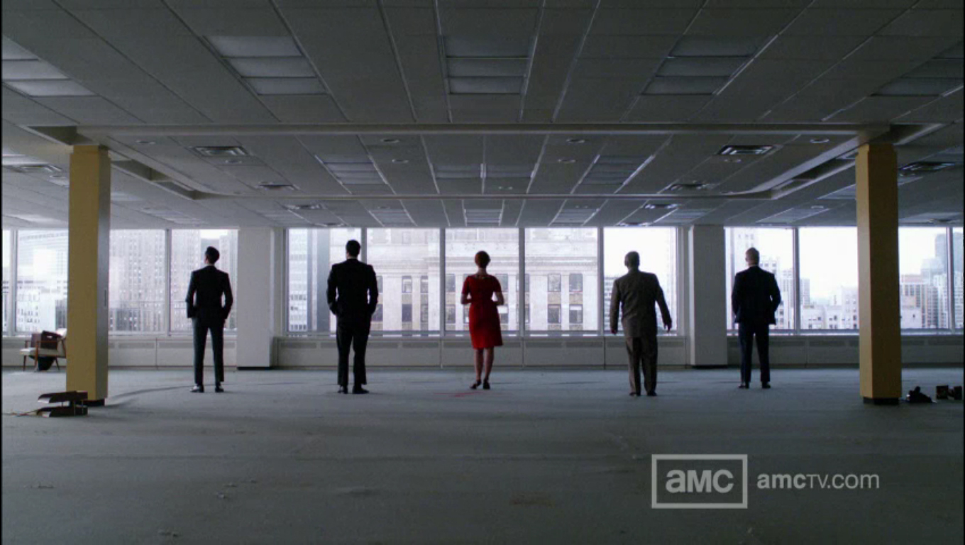 Red Phantoms: Colors Cues from the Mad Men Finale