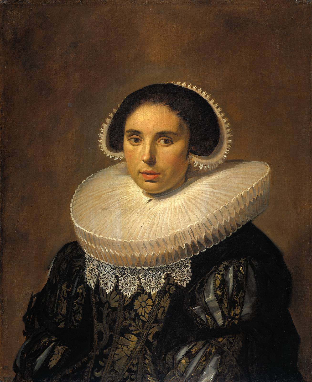 Portrait of a woman, possibly Sara Wolphaerts van Diemen  5