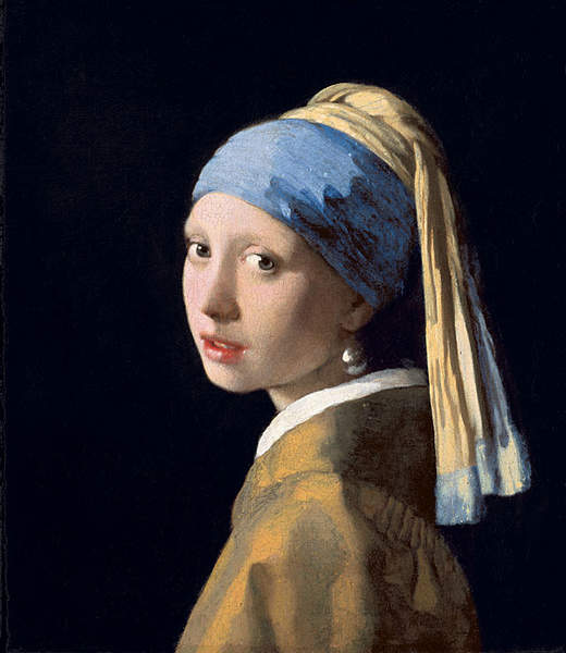 Jacquard trend 17th century dutch fashion meets modern for Johannes vermeer girl with a pearl earring